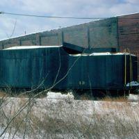 Conrail Tender No. 13 at Port Jervis, NY, Порт-Джервис