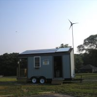 sunshack by go solar inc at renewable energy demo Indian island park, cool!, Риверхед