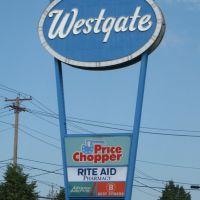 Westgate Plaza Sign, Росслевилл