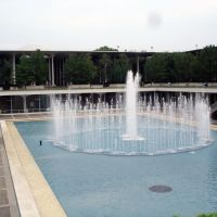 UAlbany fountain, Росслевилл