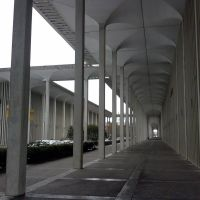 Empty UAlbany campus, Росслевилл