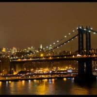 Manhattan Bridge, Саддл-Рок