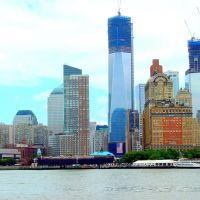 USA, la nouvelle tour, Freedom Tower atteindras au final 541 mètres, soit 1776 pieds à Manhattan, Сант-Джордж