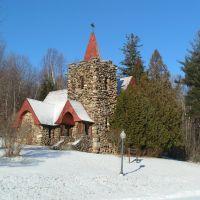 AMA/Trudeau Sanatarium Chaple, Christmas, 2004, Саранак-Лейк
