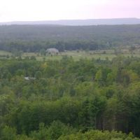 View west of Saratoga Springs, Саратога-Спрингс