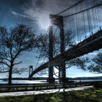 Verrazano-Narrows Bridge. Brooklyn, NY, Саут-Бич