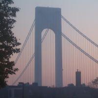 verrazano before 2005 NYC marathon, Саут-Бич