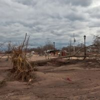 New York. Staten Island. City after Sandy storm., Саут-Бич