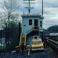 Metropolitan Transit Authority Interlocking Tower NW at North White Plains, NY, Уайт-Плайнс