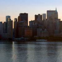 New York - New York; panoràmica Manhattan!, Уотервлит