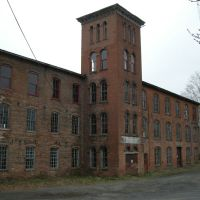 Abandoned Factory (Wool ?) Philmont NY, Филмонт