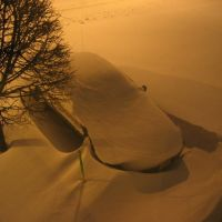 Snowy Courtyard Fishkill, Фишкилл