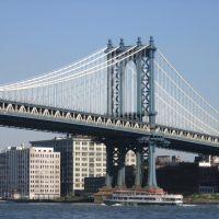 Manhattan Bridge (detail) [005136], Флашинг