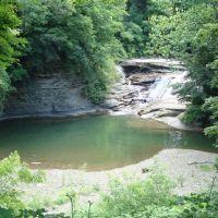 Walnut Falls on Walnut Creek, Forestville, NY, Форествилл