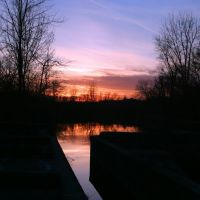 Sunset on the Erie Canal, Фэйеттевилл