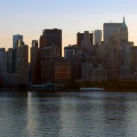 New York - New York; panoràmica Manhattan!, Хадсон