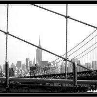 Manhattan Bridge - New York - NY, Хадсон