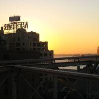 Watchtower New York Sunset, Хадсон