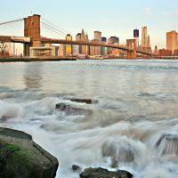 CONTEST MAY 2012, New York, View To The  Brooklyn Bridge & Manhattan, Хадсон