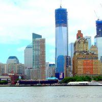 USA, la nouvelle tour, Freedom Tower atteindras au final 541 mètres, soit 1776 pieds à Manhattan, Хадсон
