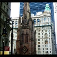 Trinity Church - New York - NY, Хадсон-Фоллс