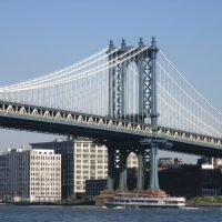 Manhattan Bridge (detail) [005136], Хадсон-Фоллс