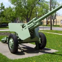 M5 76mm Anti Tank Gun Depew NY, Элма-Сентер