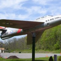 F-84F Thunderstreak East Aurora NY, Элма-Сентер