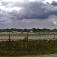 Panoramic shot of Belmont Race Track, Элмонт