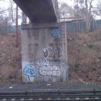 Train line grafitti, Элмонт