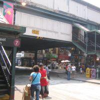 82th street 7 train station, Jackson Heights, Элмхарст