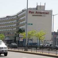 Beautiful Pan American building in the spring in New York City., Элмхарст