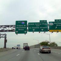 EE UU Brooklyn Queens Expy Salida 41, Brooklyn, Nueva York, Элмхарст