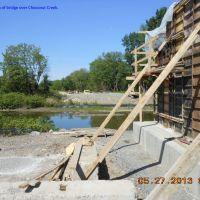 Vesta Rail Trail  - bridge construction, Эндикотт