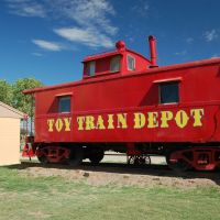 Red Train Car, Аламогордо