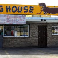 Dog House Drive In, 1216 Central Ave NW, Historic Route 66, Albuquerque, NM, Альбукерк