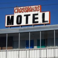 Crossroads Motel, Historic Route 66, 1001 Central Avenue Northeast, Albuquerque, NM, Альбукерк