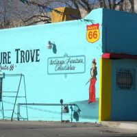 Arts Treasure Trove, Central Ave, Historic Route 66, Albuquerque, NM, Альбукерк