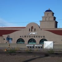 Greyhound Bus and Amtrak Station, Albuquerque, NM, Альбукерк