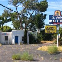 Albuquerque, El Vado Motel 2007 (closed), Берналилло