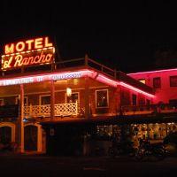 el Rancho Motel, Route 66, Gallup, New Mexico, Гэллап