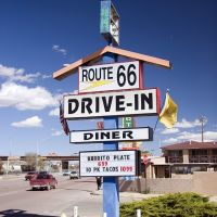 Route 66, Gallup, New Mexico, Гэллап
