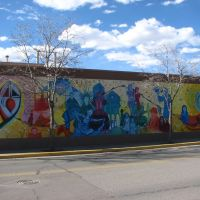Womens Multi-Cultural Mural by Erica Rae Sykes - Gallup, NM, Гэллап