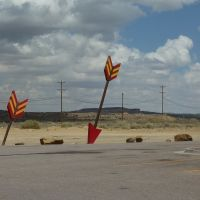 Route 66 bei Gallup, NM, Гэллап
