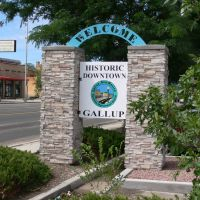 Welcome Historic Downtown Gallup, New Mexico, Гэллап