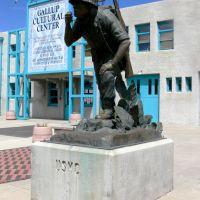 Navajo Code Talkers Departure May 4, 1942, Gallup, New Mexico, Гэллап