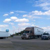 Truck parking, Деминг