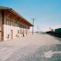 Deming train depot, New Mexico., Деминг