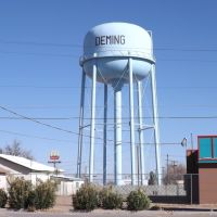 Deming, NM Water Tower---st, Деминг
