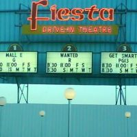 Fiesta Drive In Theatre Carlsbad, NM, Карлсбад